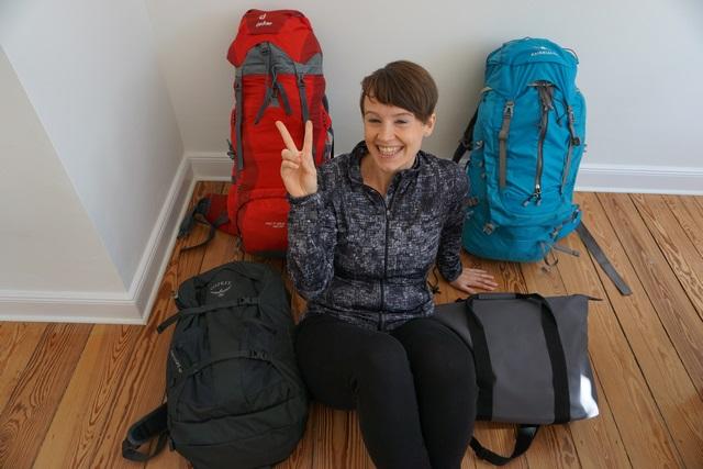Packliste -Rucksack