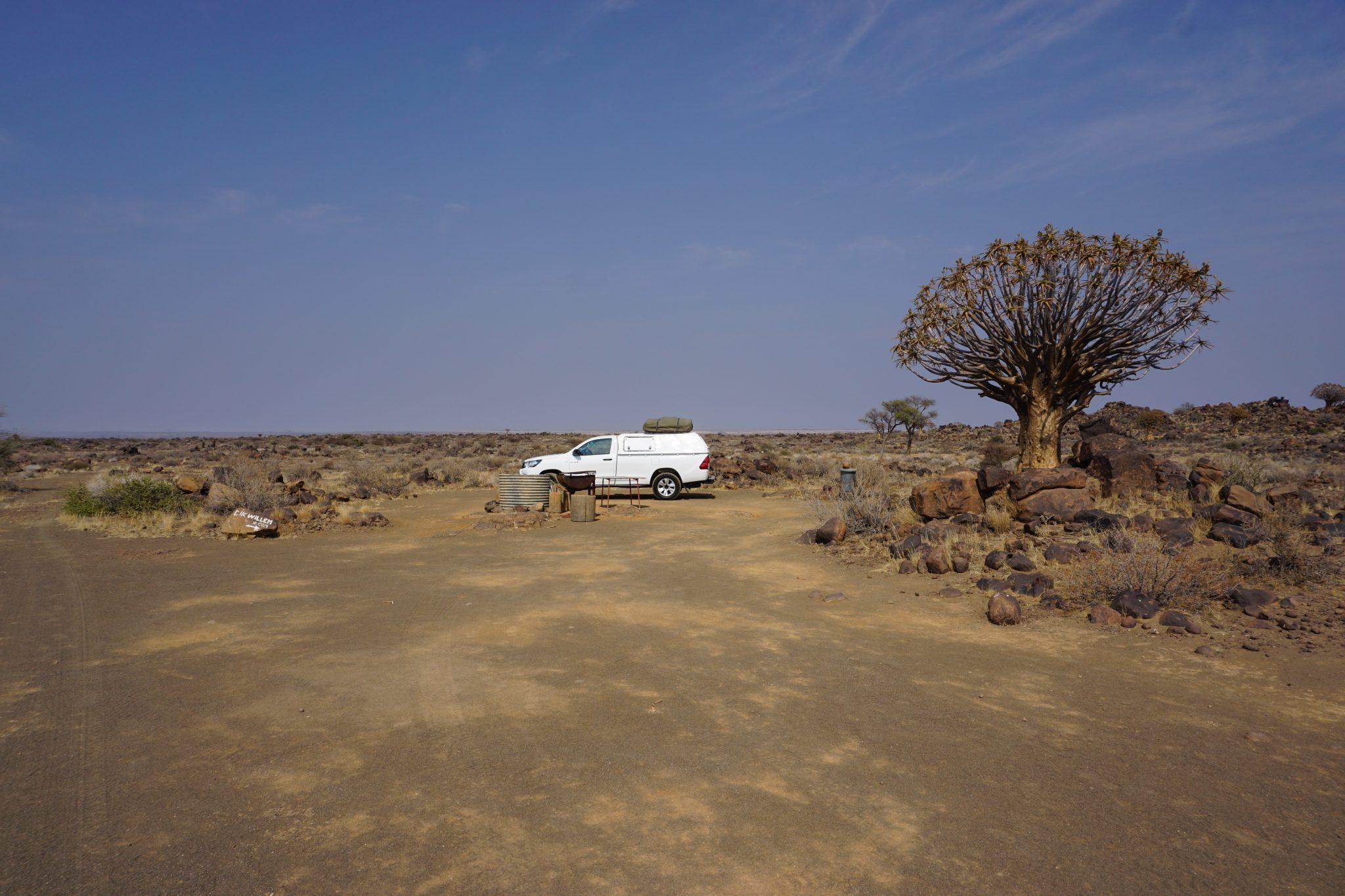 Namibia Reise: Unser Camper