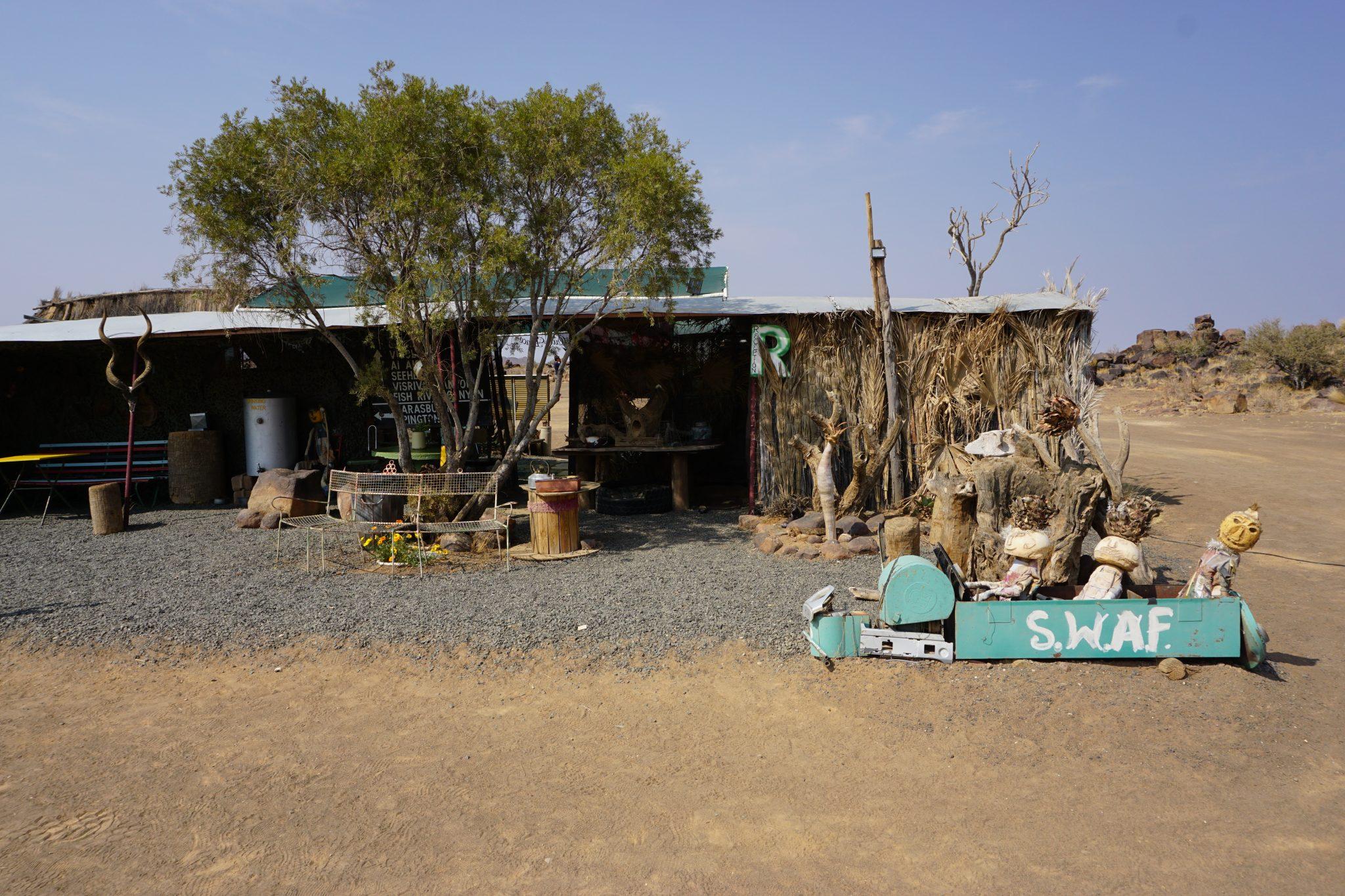 Namibia Reise: Unsere erste Campsite