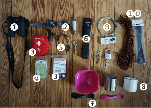 Packliste - Weltreise