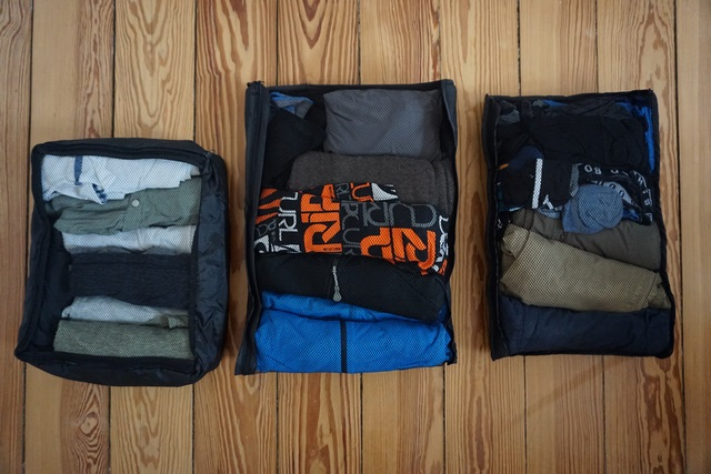 Packliste - Kleidersäcke