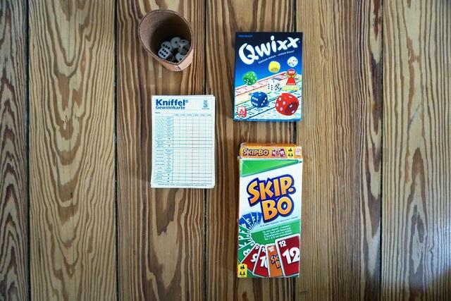 Packliste -Spiele