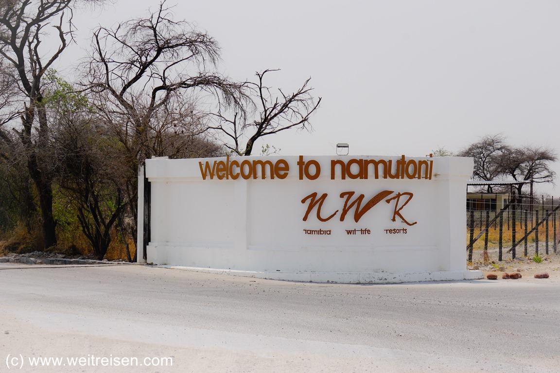 Etosha Nationalpark Namibia Weitreisen