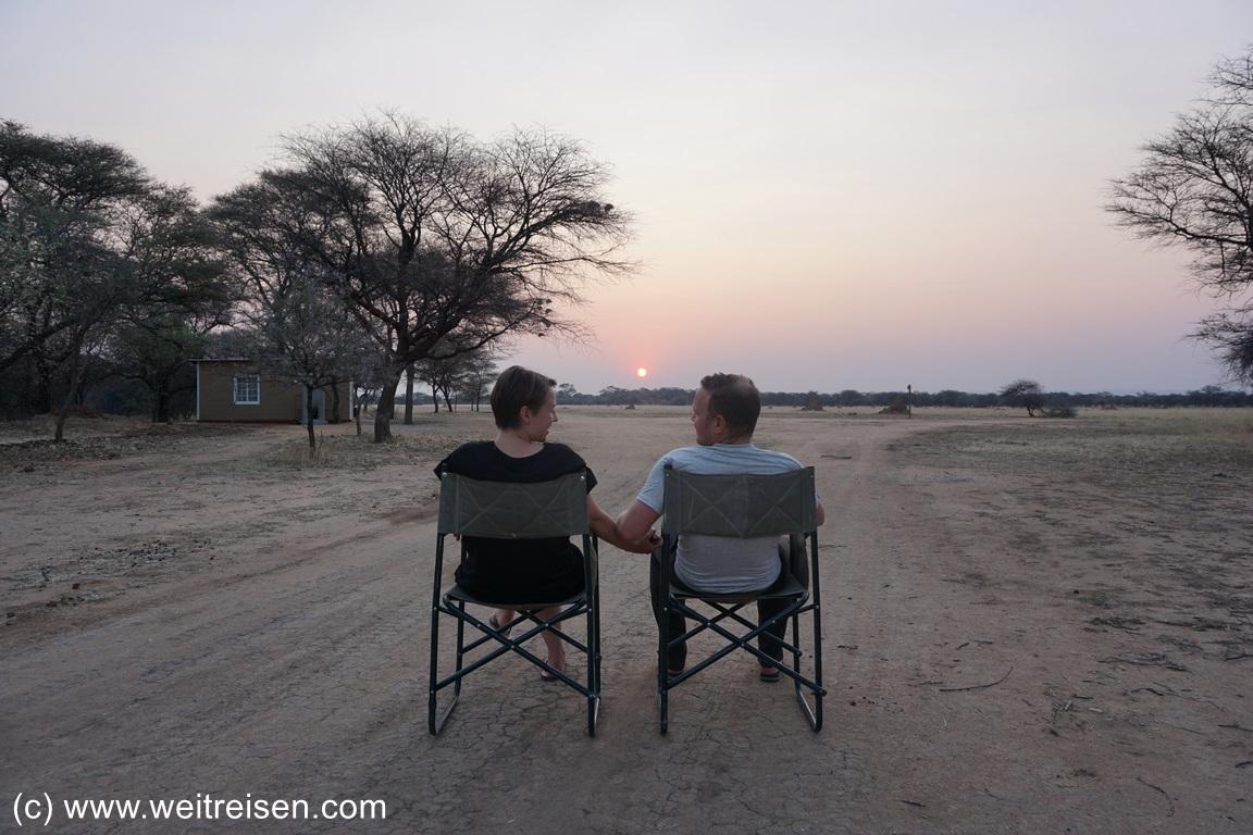 Namibia Rundreise, Weitreisen
