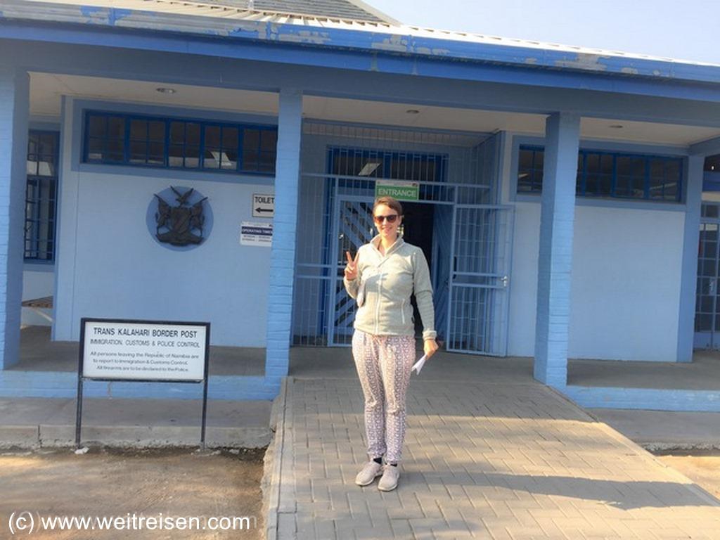 Einreise nach Botswana mit dem Auto, Weitreisen in Afrika
