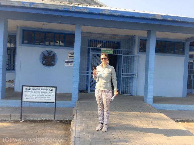 Einreise Botswana mit dem Auto, Weitreisen in Afrika