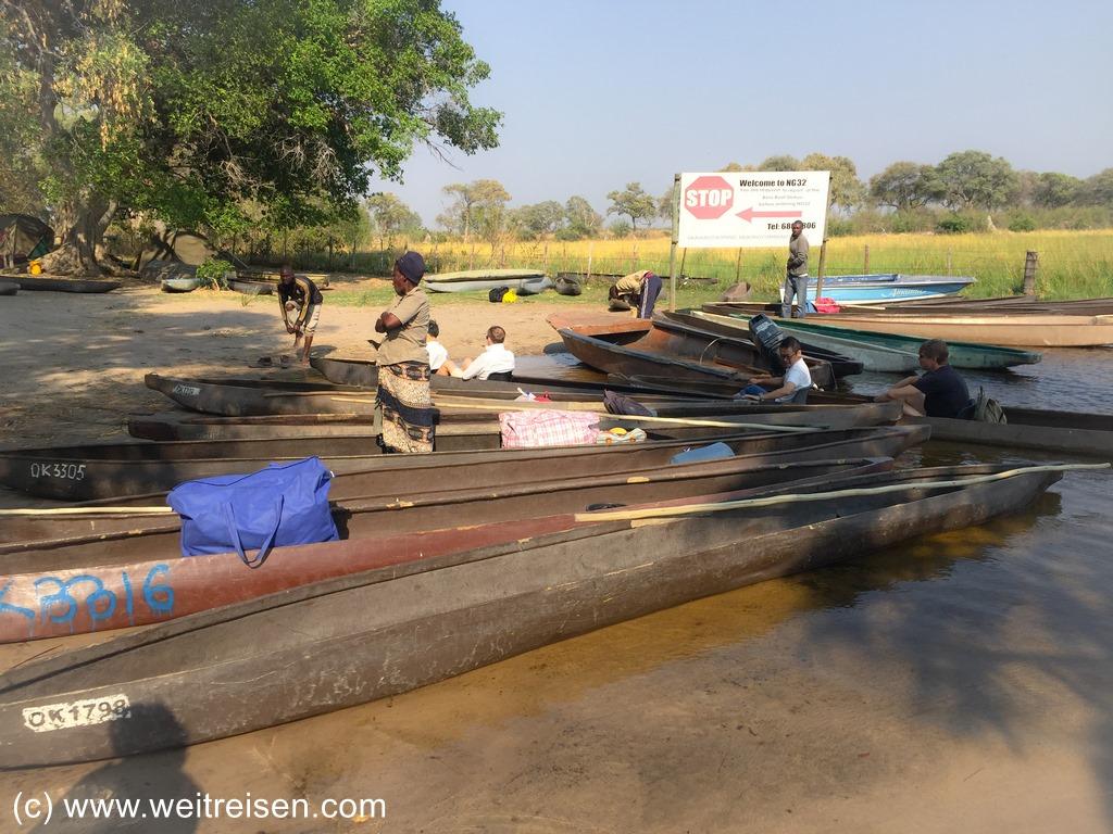 Mokoro Tour durch das Okavango Delta