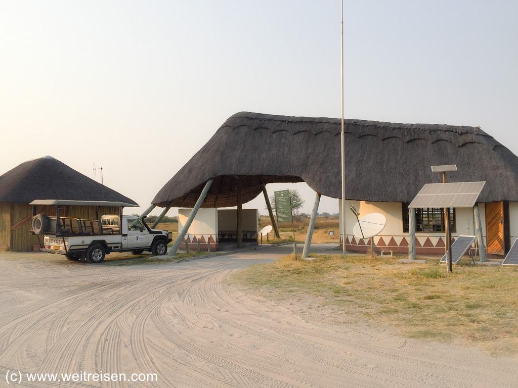 Third Bridge Camp, Moremi Game Reserve
