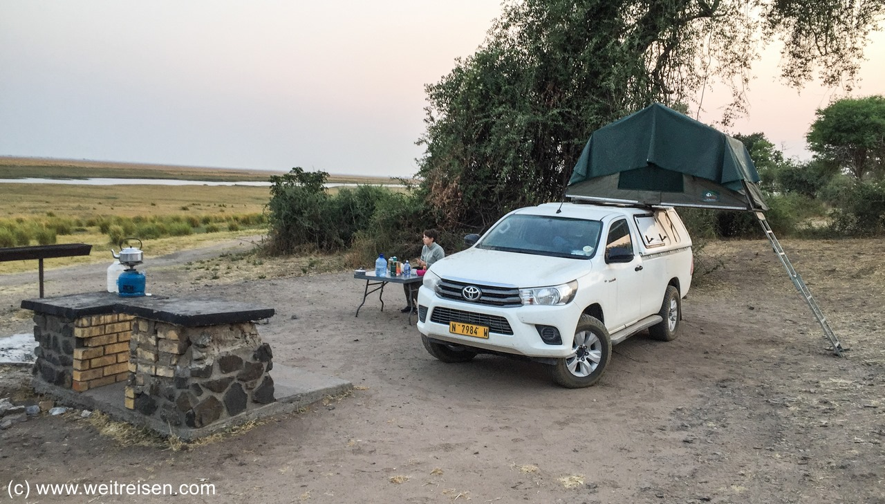 Chobe National Park, Chobe Riverfront, Ihaha Rest Camp, Botswana