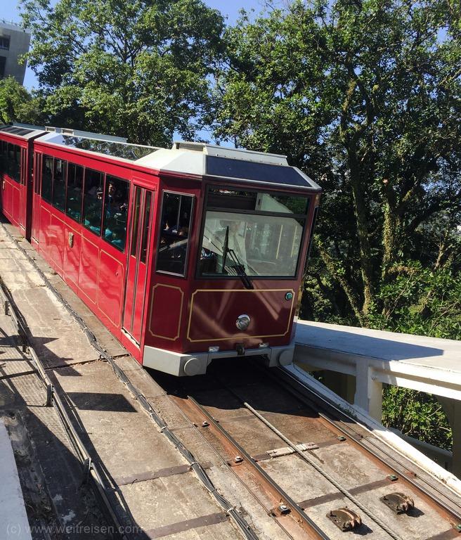 Hongkong, Peak Tram zur Sky Terrace