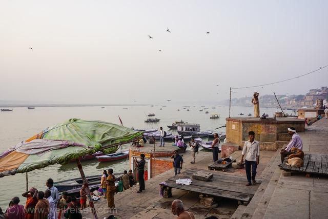 Varanasi, die heilige Stadt am Ganges