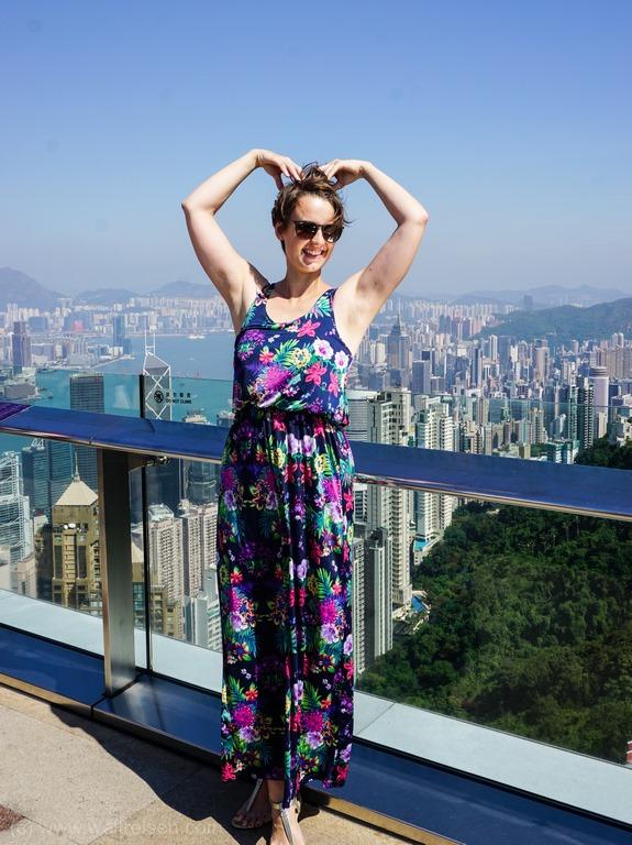 Hongkong, Sky Terrace 145, Peak Tower, schönster Ausblick über Hongkong