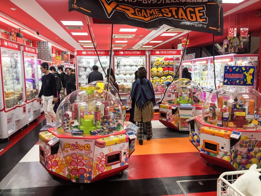 Tokio, Japan und seine Spielhallen