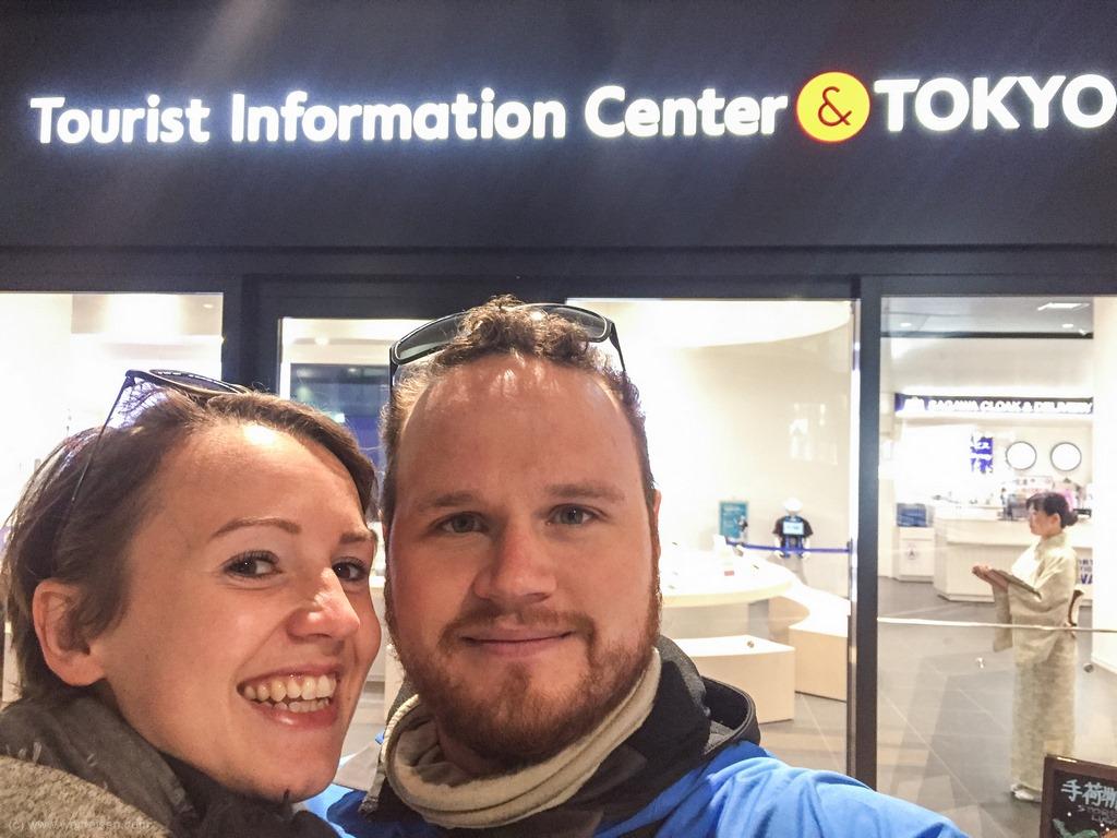 Tokio, Touristen Information
