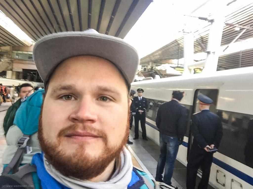 Zugfahren in China, von Peking nach Xian