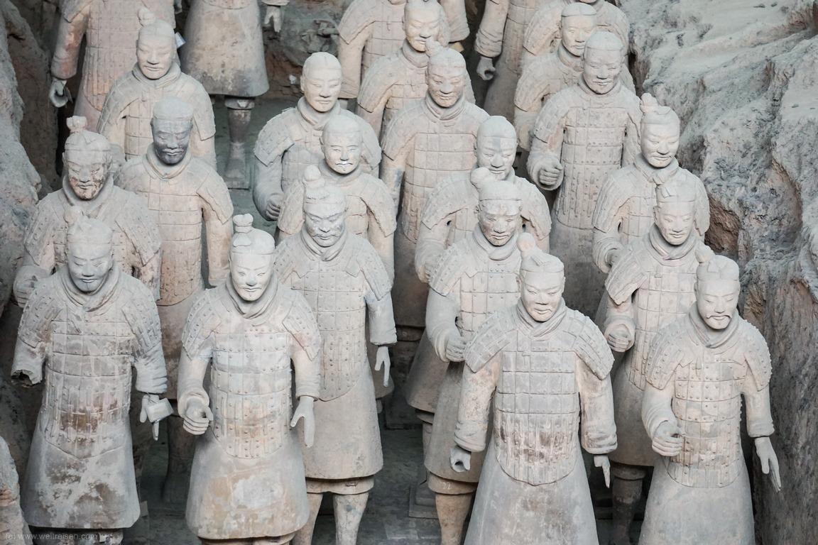 Sehenswürdigkeiten Xian, Terrakotta Armee