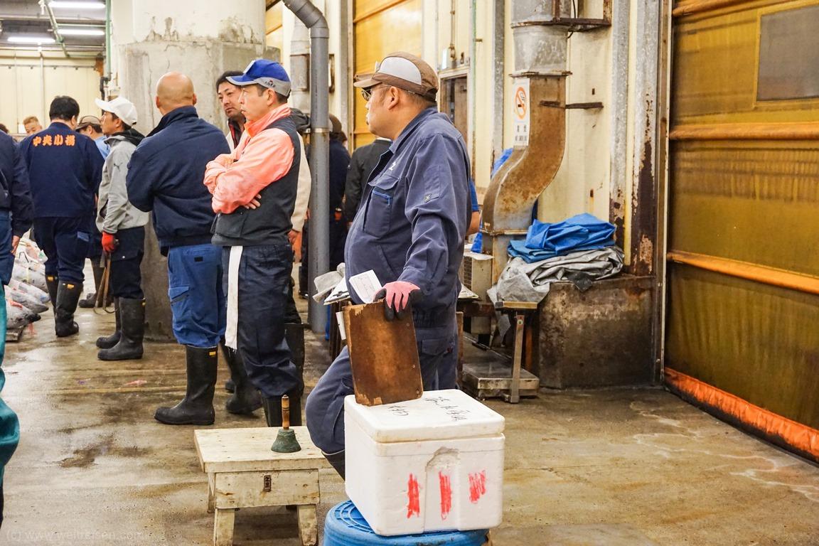 Thunfisch Auktion Tokio Fischmarkt
