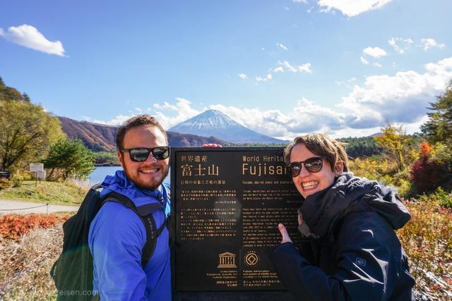 Fuiji, Japans höchster Berg
