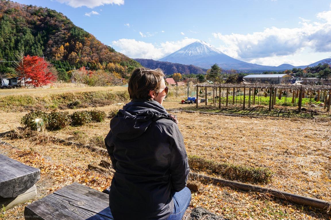 Ausflug zum Fuiji