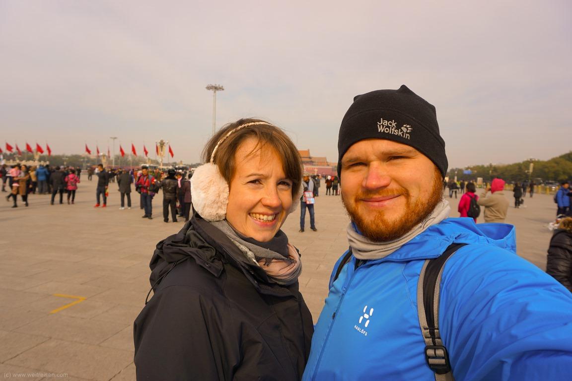 Platz des Himmlischen Friedens, Tian´anman Platz, Beijing, Peking