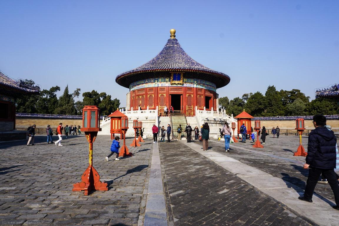 Halle desHimmelsgewölbes, Himmelstempel, Beijing, Peking