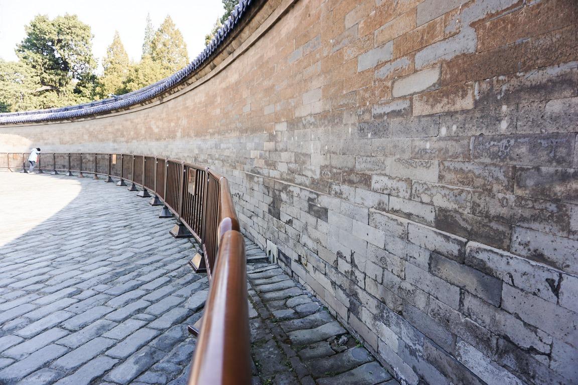 Echomauer, Halle desHimmelsgewölbes