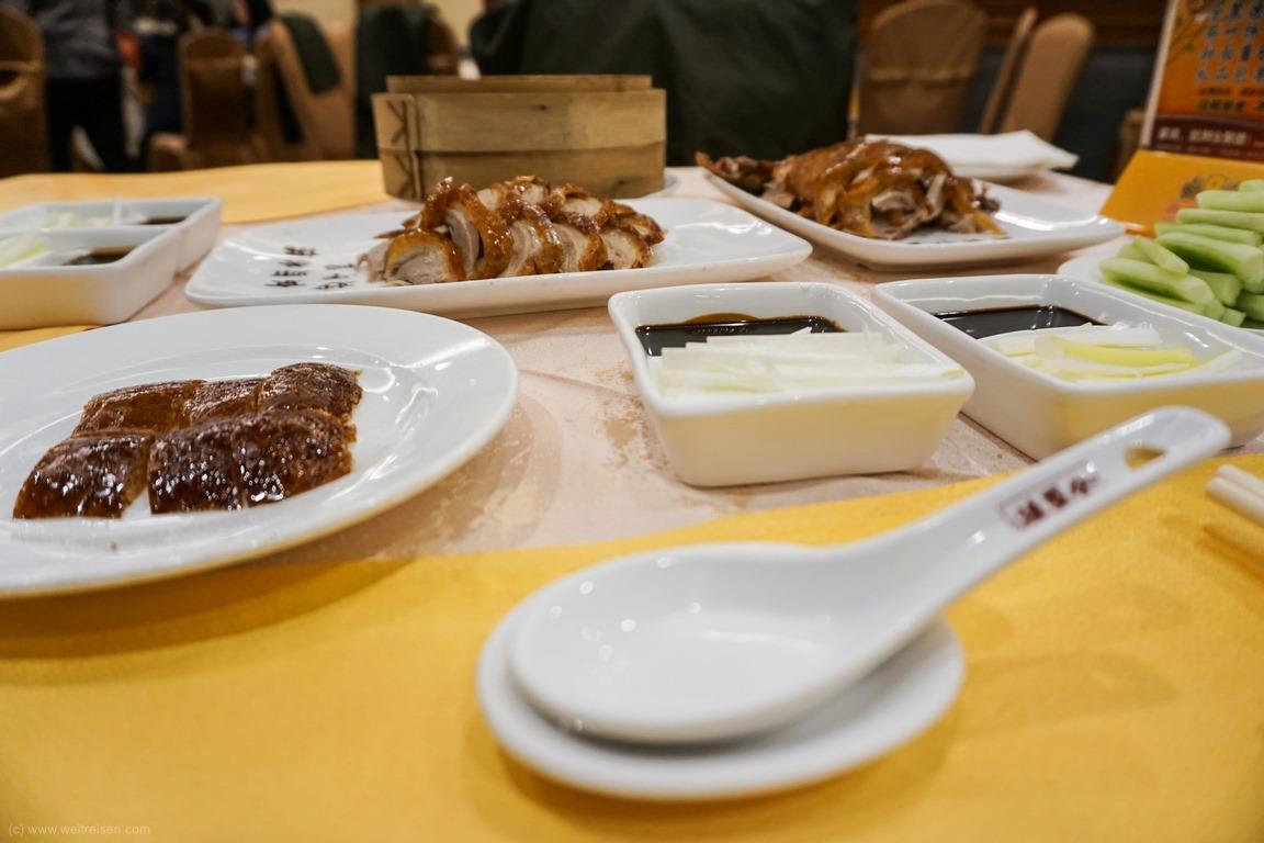 Peking Ente Essen, Beijing