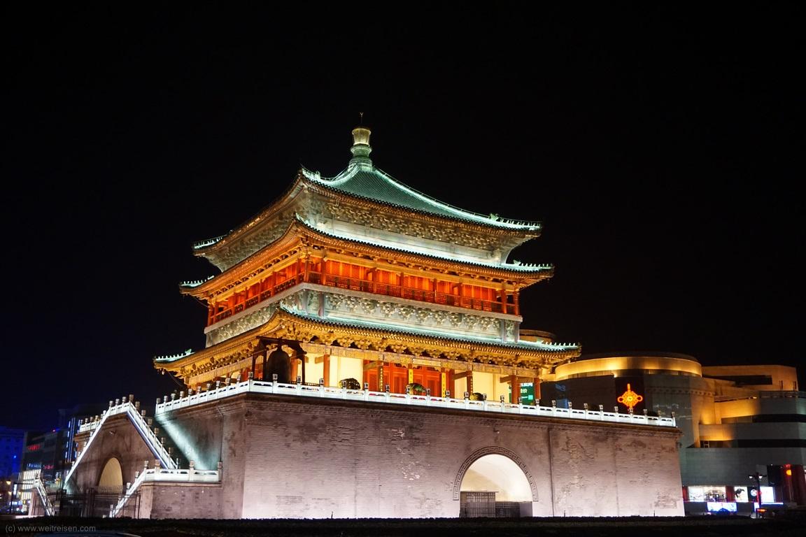 Glockenturm Xian, Sehenswürdigkeiten von Xian