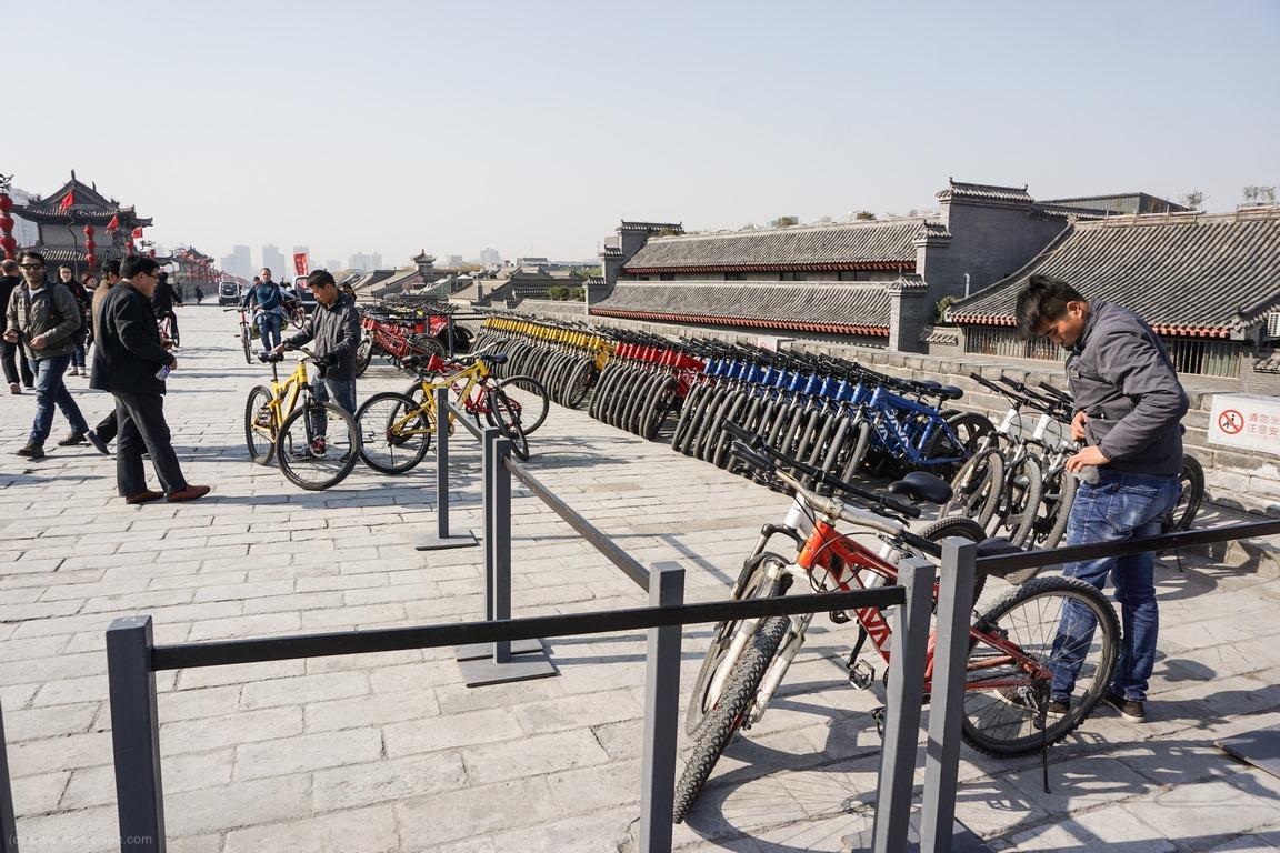 Stadtmauer Xian, Sehenswürdigkeiten von Xian
