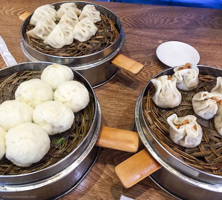 Dumplings, Chinesisches Frühstück