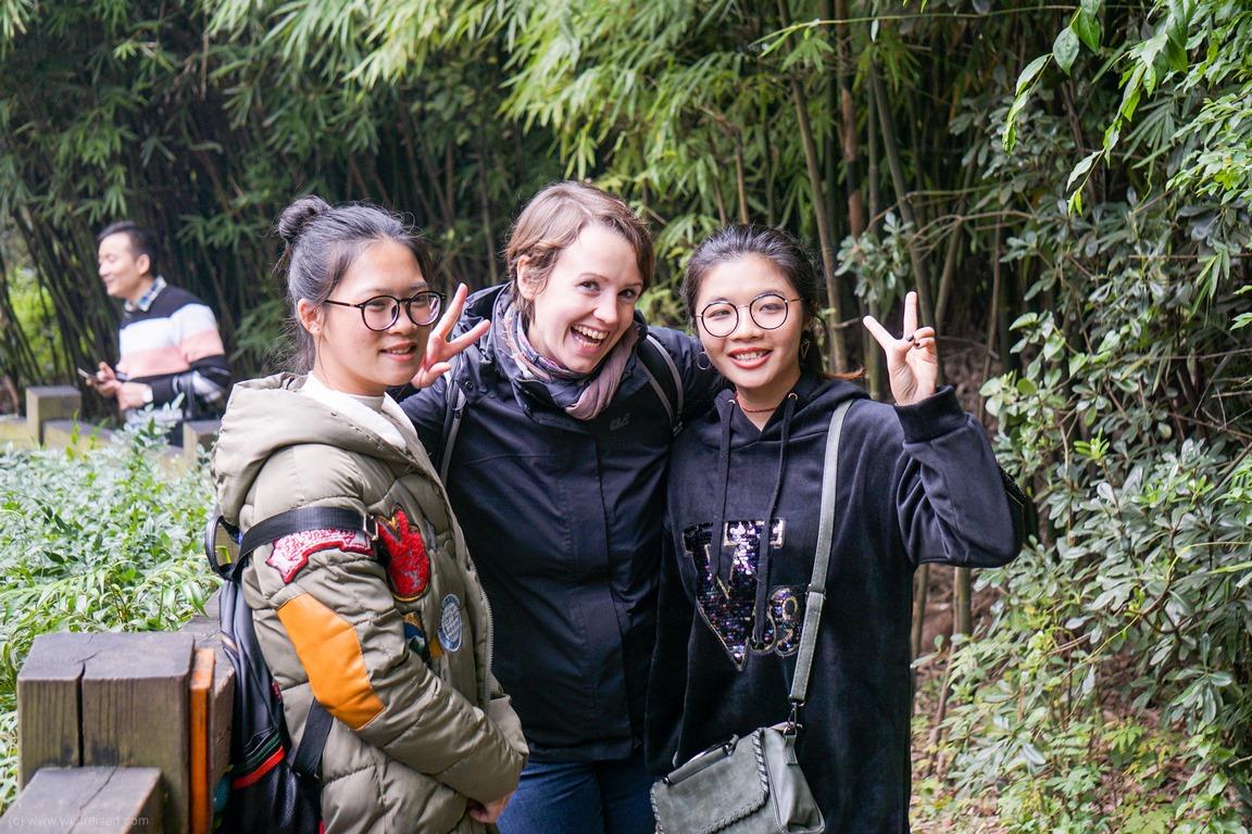 Chengdu, Panda Bären