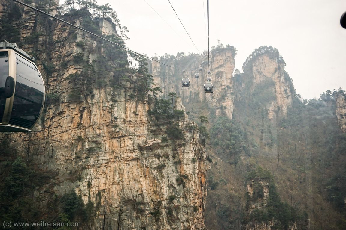 Zhangjiajie, Avatar Moutains