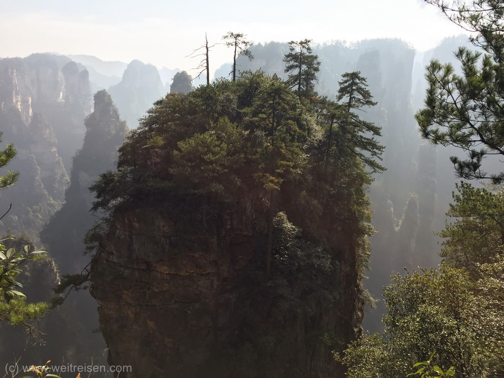 Zhangjiajie, Avatar Moutains, Floating Mountain