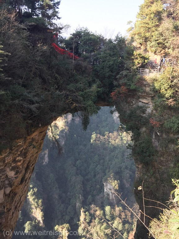 Zhangjiajie, Avatar Moutains, First Bridge