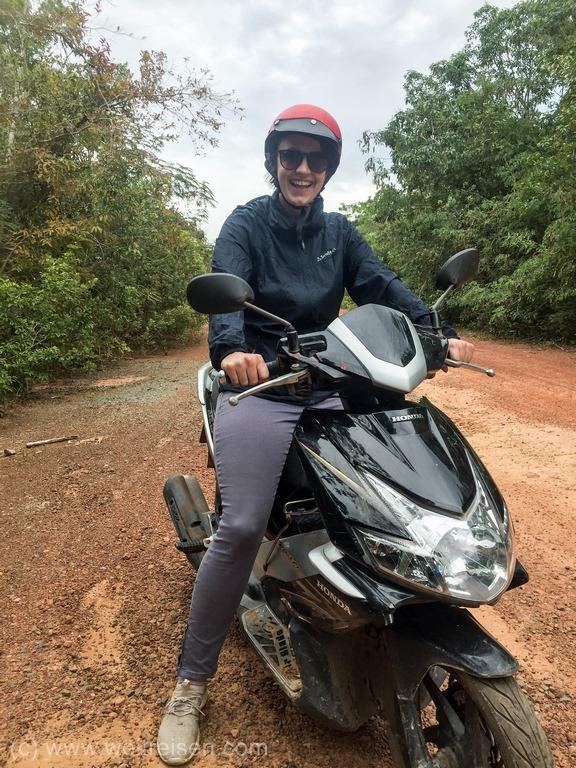 Urlaub vom Reise, Vietnam, Phu Quoc, Roller Tour über die Insel