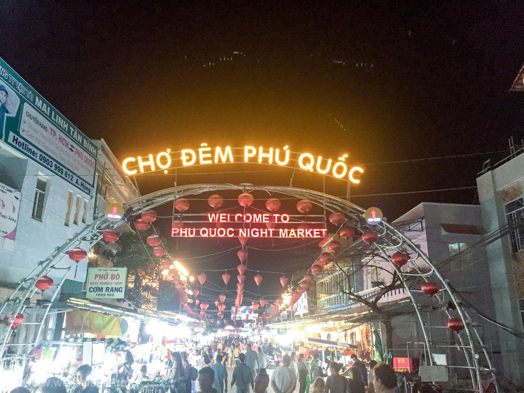 Urlaub vom Reise, Vietnam, Phu Quoc, Doung Dong Nachtmarkt