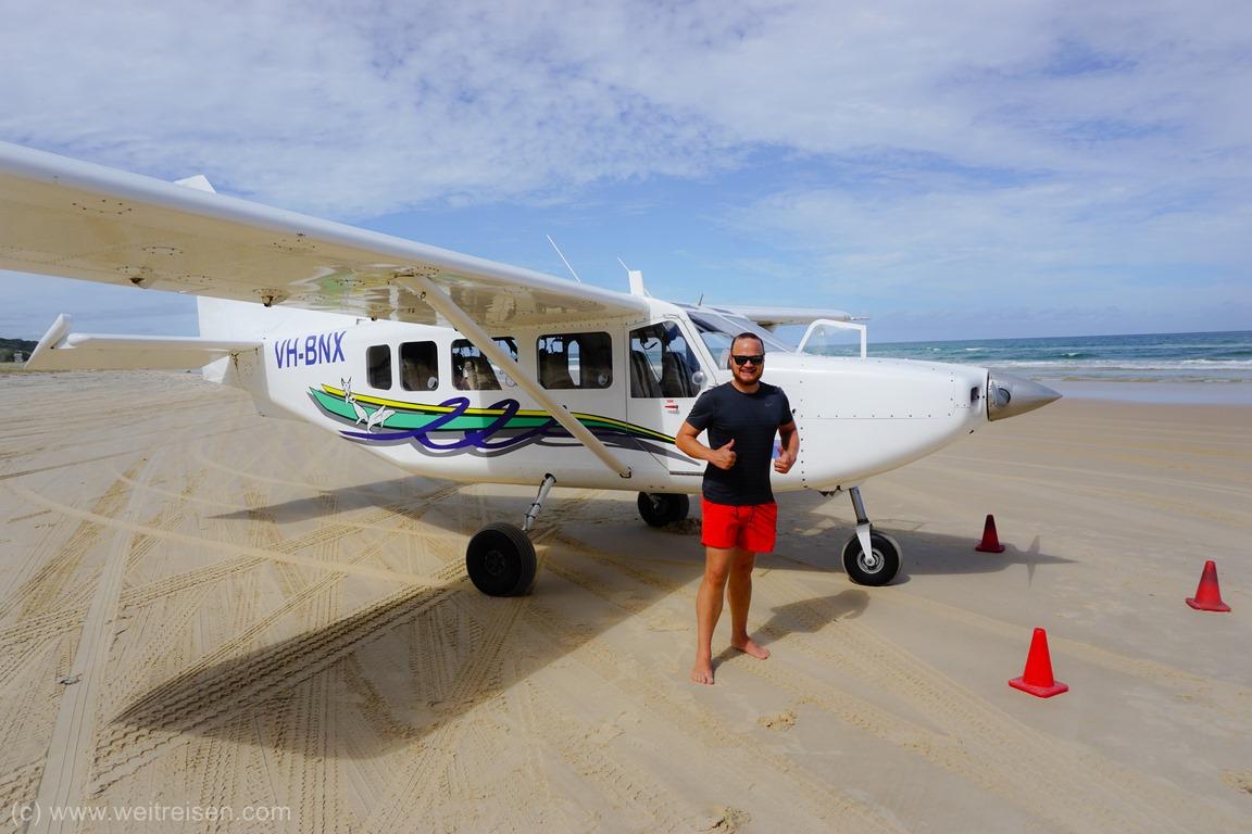 Fraser Island, Air Fraser, Rundflug